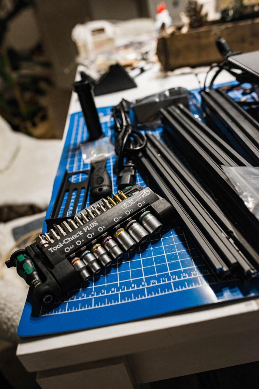 3D Drucker Ender 3 -- Unboxing und Aufbau
