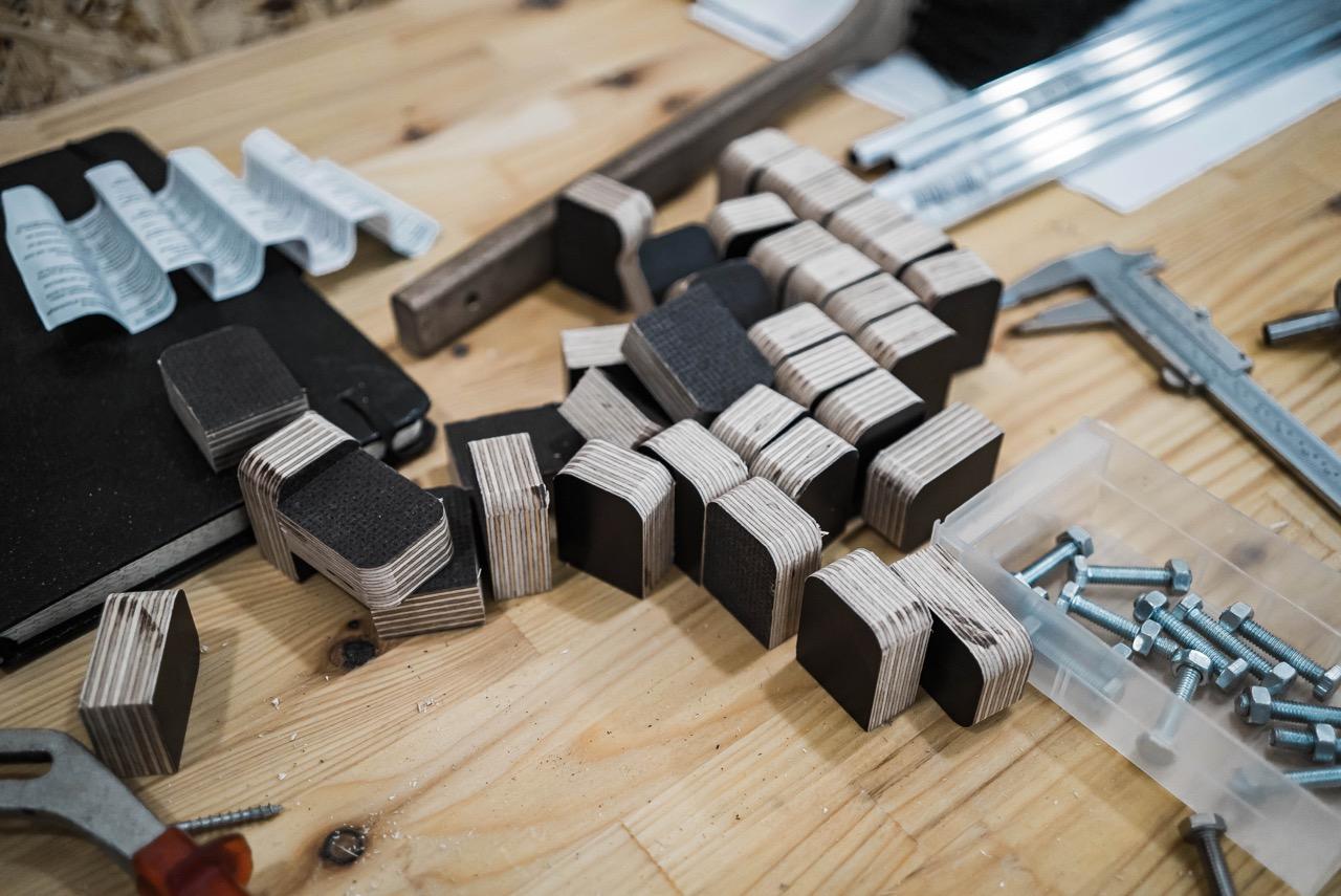 Schubladenfronten für die Hobbywerkstatt