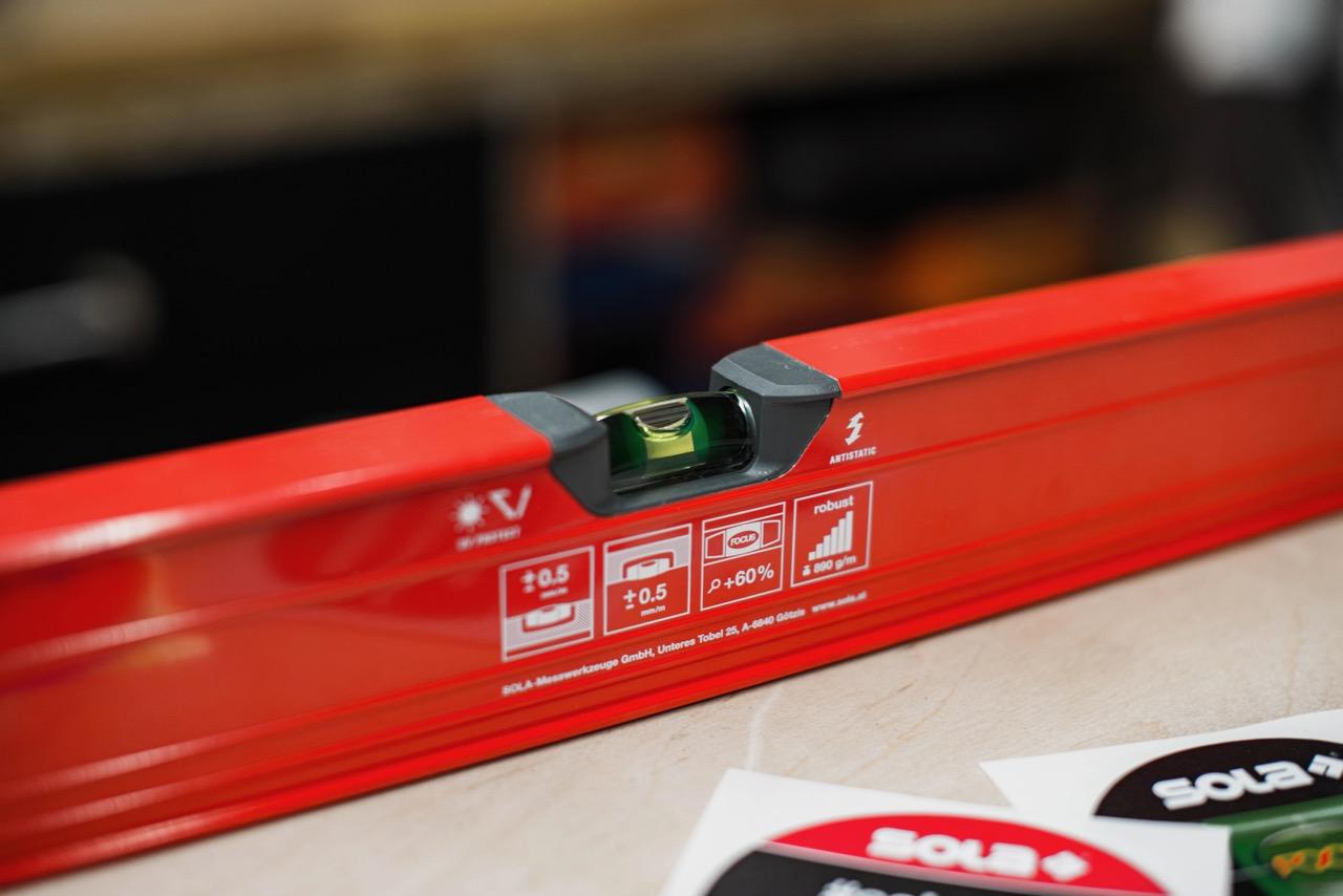 Tool Review: SOLA RED 120 DIGITAL Wasserwaage