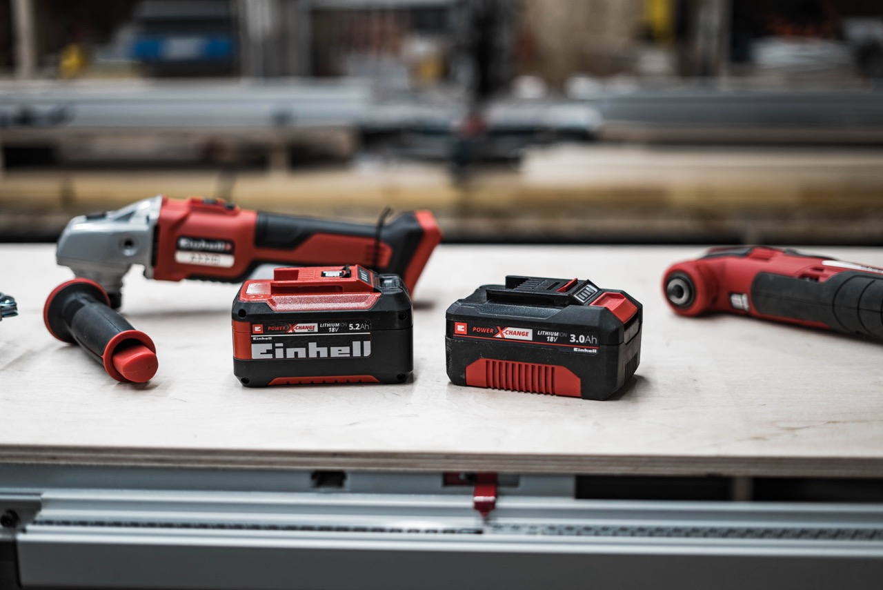 Tool Review: Einhell AXXIO Akkuwinkelschleifer