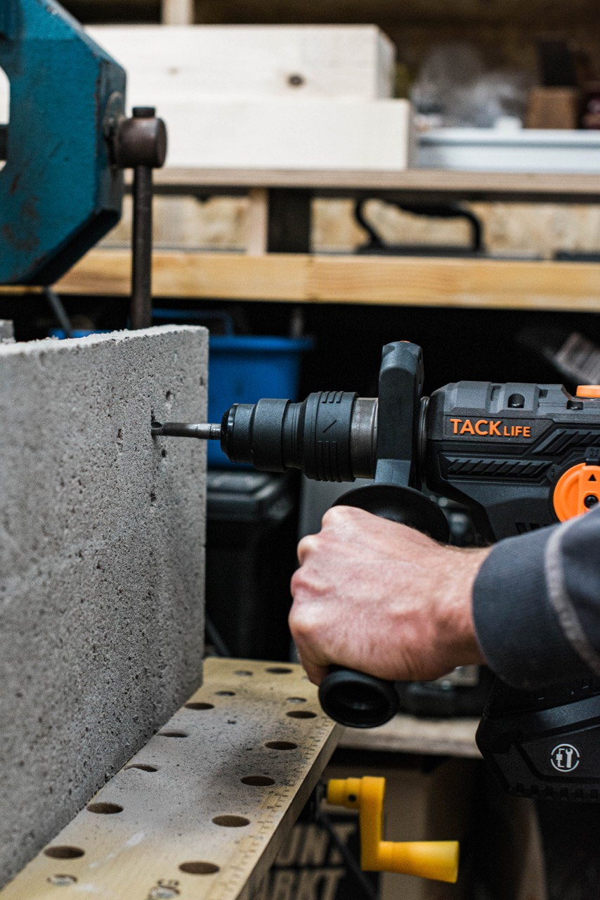 Tool Review: TackLife Bohrhammer