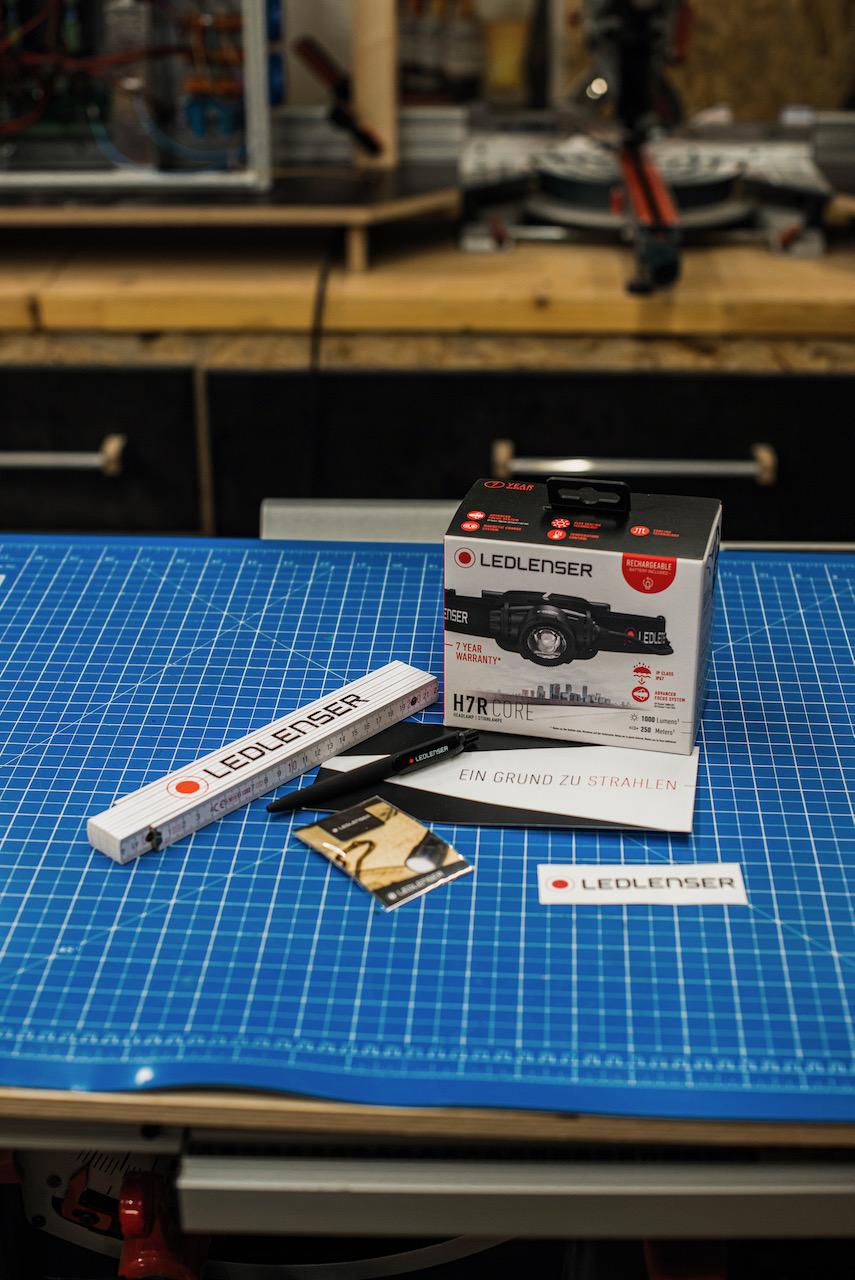 Tool Review: Stirnlampe H7R core von Ledlenser