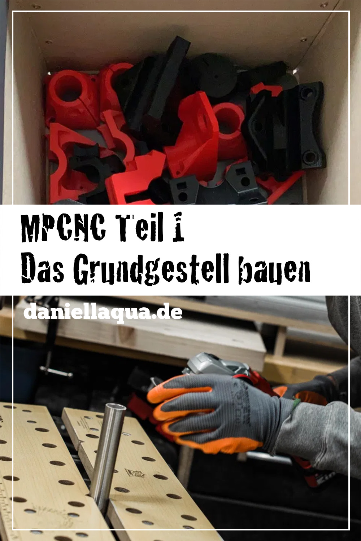 Pin MPCNC Komponenten für das Grundgestell