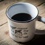 A coffee particle is comprised of 24 molecules