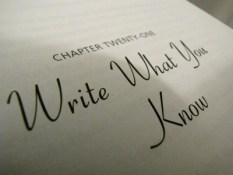 write-what-you-know