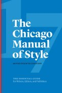 Don't forget to use the Chicago Manual of Style as you're self-editing