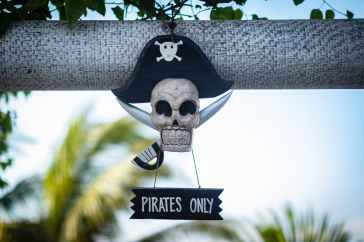 pirate decor for pirate themed submission for September 2020