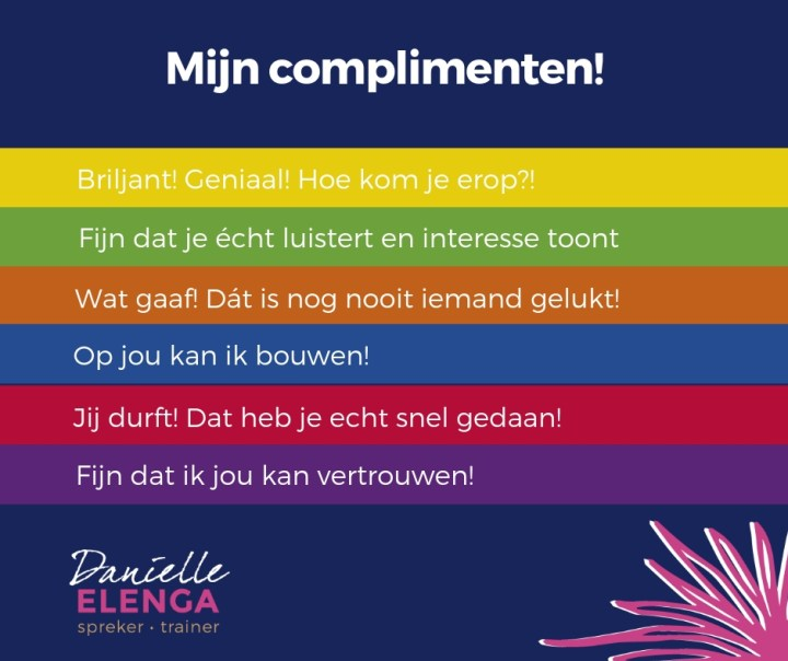 Complimentendag 2019 - drijfveren in de media #61