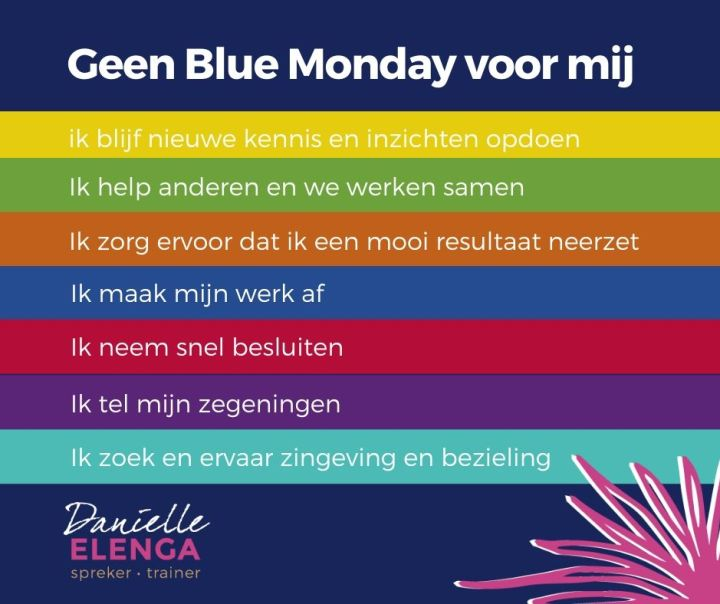 Blue Monday - Drijfveren in de media #96