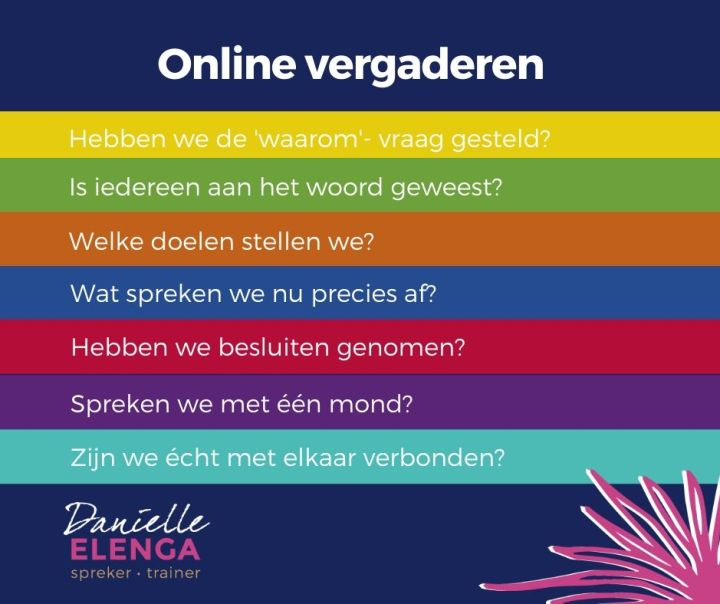 Tips voor online meetings met je klant of collega - Drijfveren in de media #107