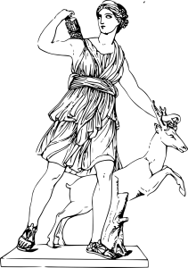 goddess, greek, artemis