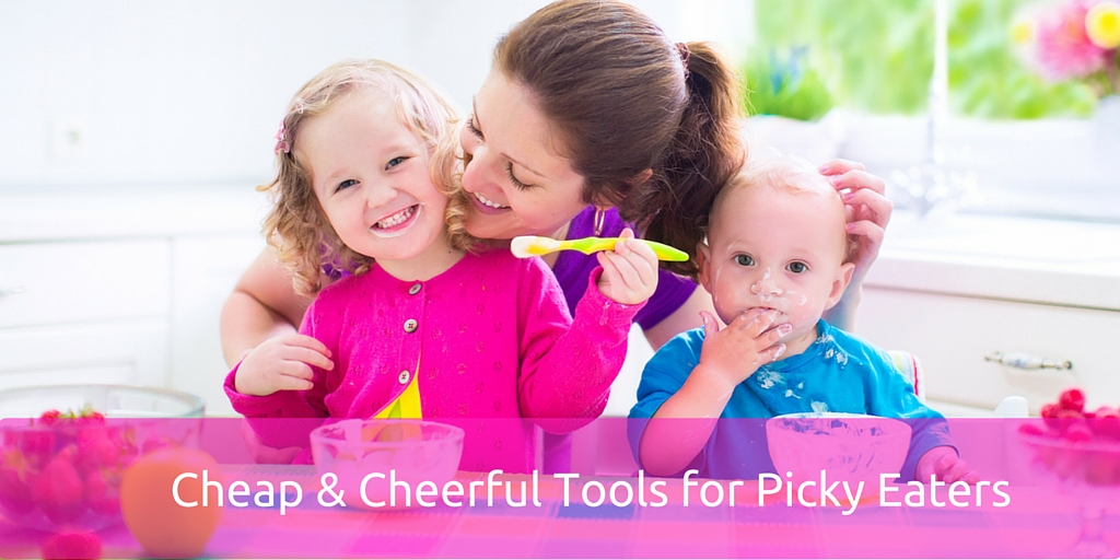 4 Cheap & Cheerful Tools for Picky Eaters (to try new foods)