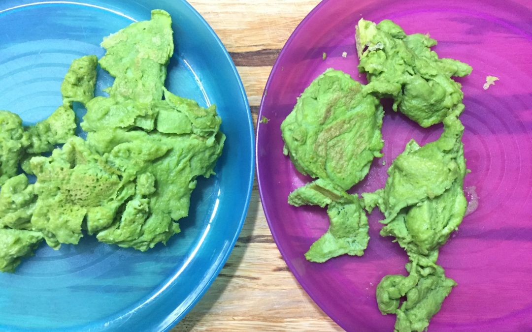 Green Eggs No Ham (a healthy breakfast for picky eaters)