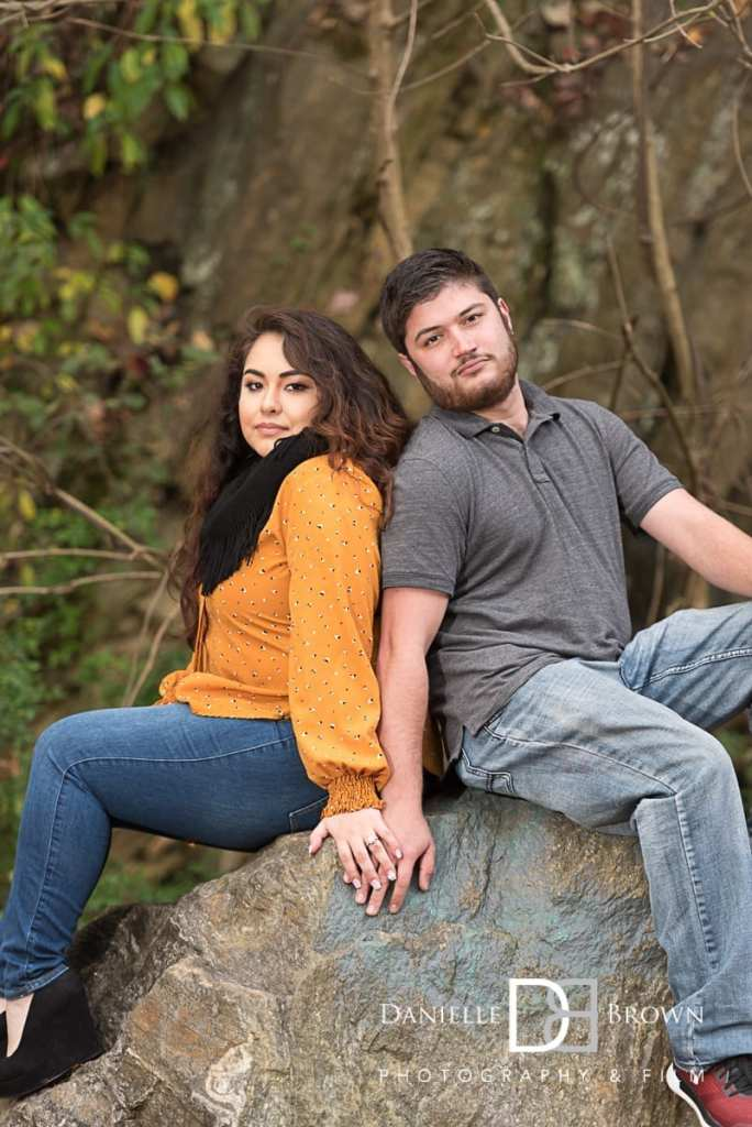 engagement photography ropemill park