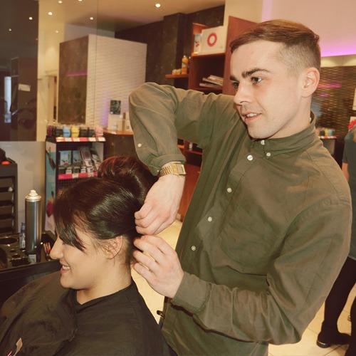 Connor hairdressing Edinburgh