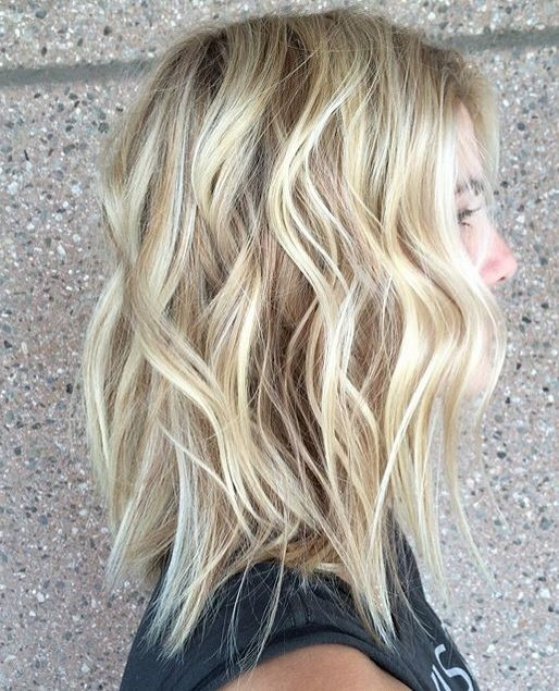 Beach Waves with Straight Ends