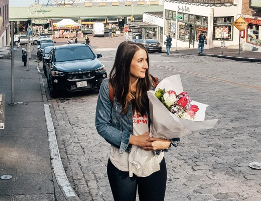 Support a Caregiver - Flowers Pike Place Market Seattle - Danielle Comer Blog