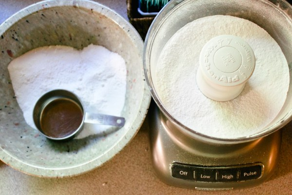 homemade laundry soap mixing Danielle Comer Blog