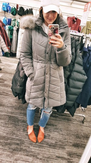7368d76d77d5d Women s Quilted Puffer Coat (size M – also comes in black and olive! Adding  this to my wish list!) Universal Thread Sherpa ...