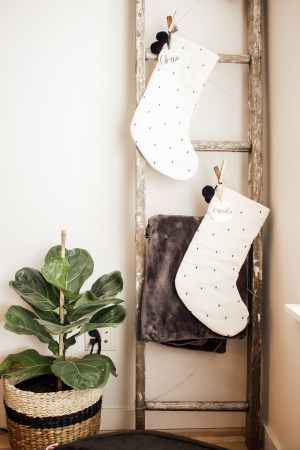 cozy winter decor target hearth and hand stockings fiddle-leaf fig - Danielle Comer Blog.jpg