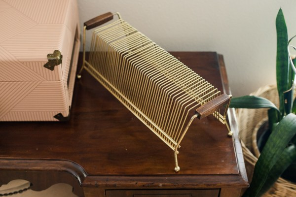 vintage record holder-South by PNW Vintage