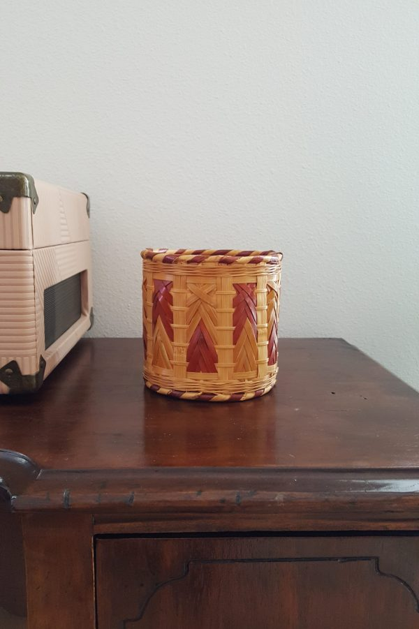 small wicker basket-South by PNW Vintage