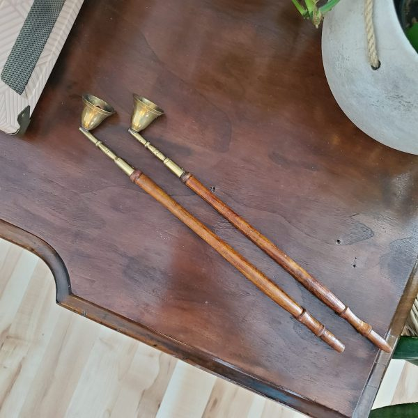 vintage brass candle snuffer - South by PNW Vintage