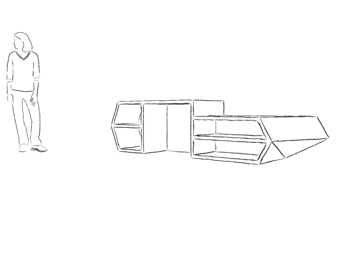 chair design by le corbusier baby swing vibrating combo reception desk – sketches 2   danielleddesigns