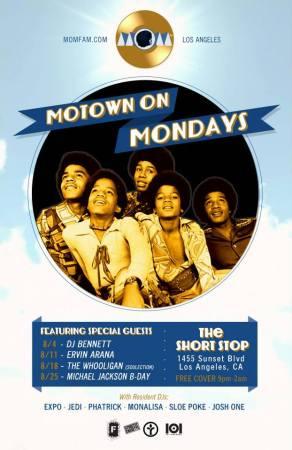 Motown on Mondays celebrates Michael Jackson