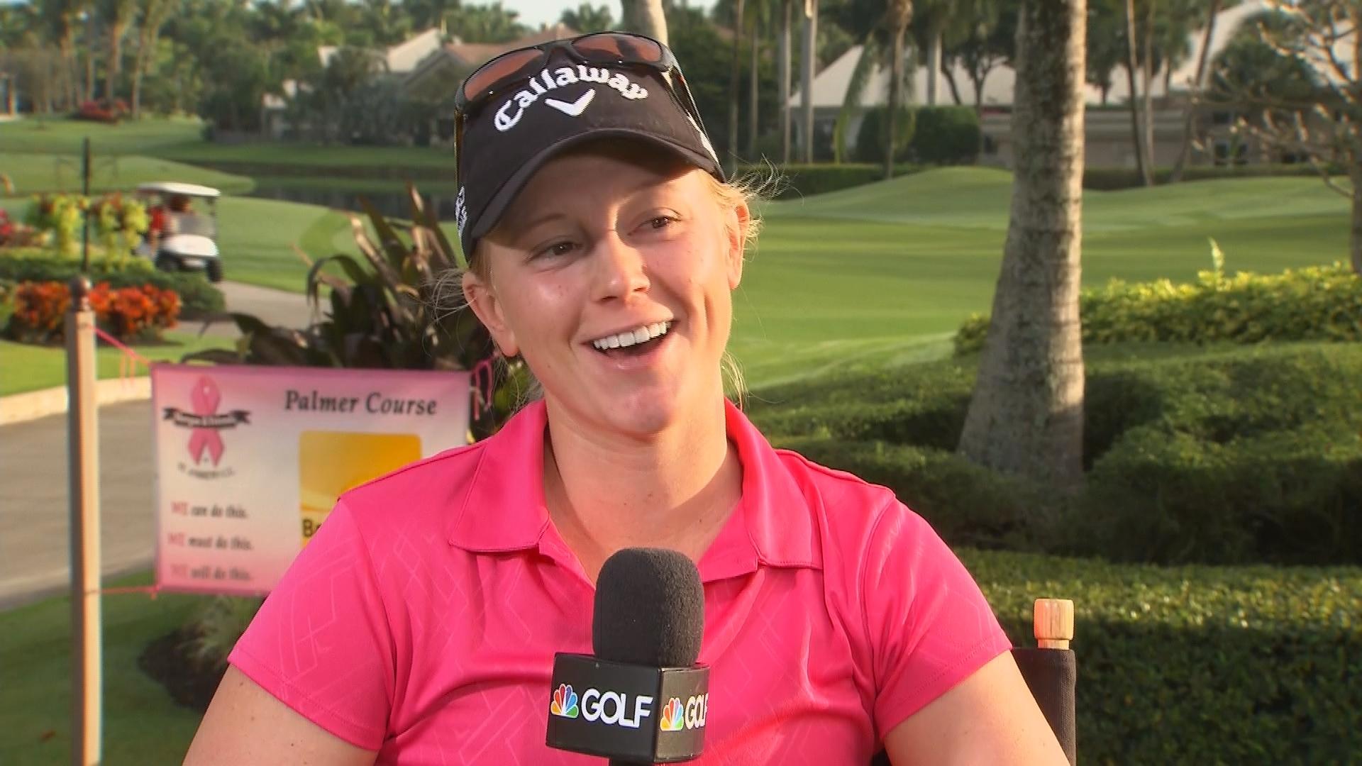 Madison Pressel NBC Golf