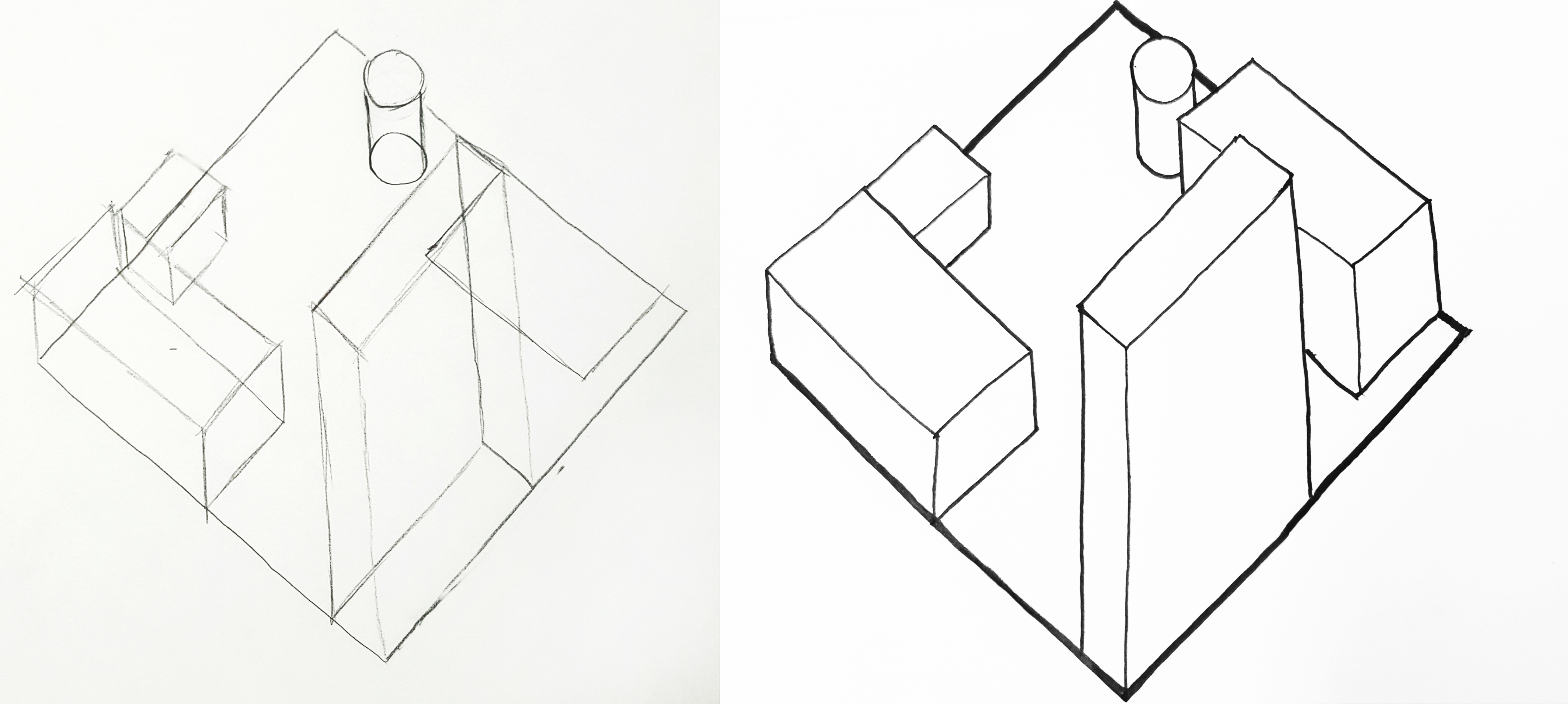 My Plan Oblique And Isometric