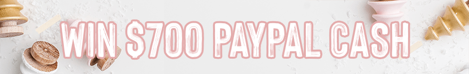 $700 PayPal Giveaway