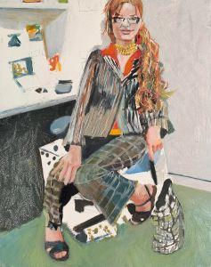 Bettina Burch self portrait