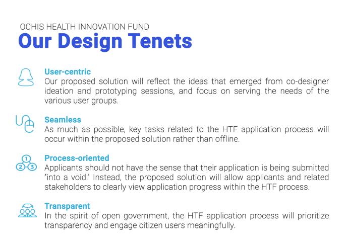Design Tenets