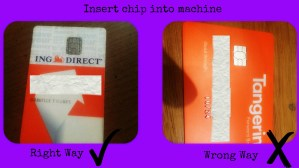 tangerine ing direct debit interact