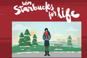 starbucks win for life coffee
