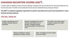 canadian securities course cdc business journalism