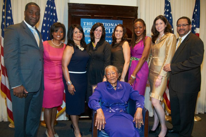 Recy Taylor honored at the National Press Club in Washington DC