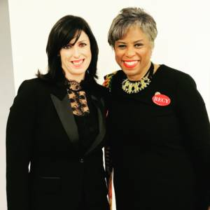 Danielle with Congresswoman Brenda Lawrence at the SOTU