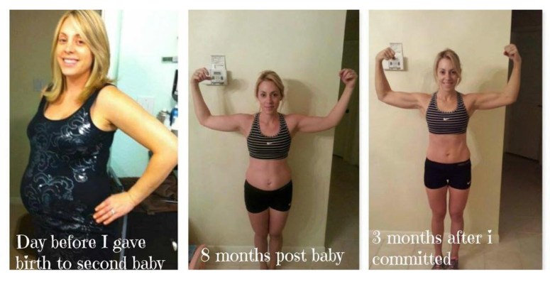 Danielle McKean Beachbody Weight loss transformation