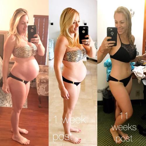 beachbody after pregnancy before and after