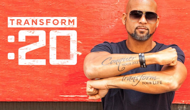 Hello, Transform :20 – Shaun T's 20-Minute Workout