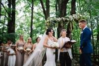 Beautiful Backyard Wedding in Haliburton
