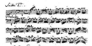 First Bach Suite--Prelude1