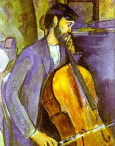 Modigliani, Cello Player