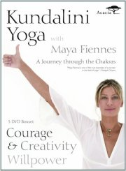 Maya Fiennes - A Journey Through The Chakras dvd courage creativity willpower