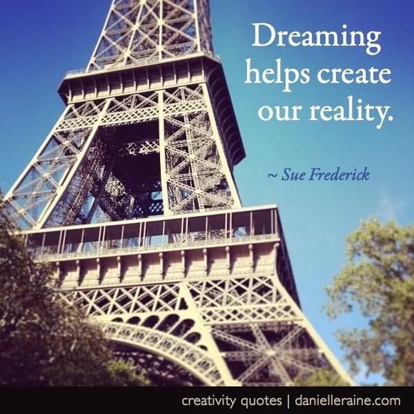 sue frederick dreams quote numerology blog post