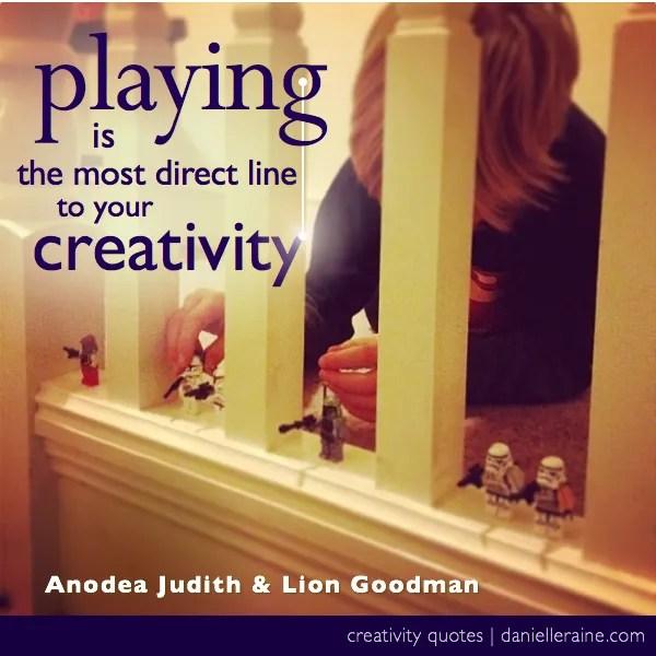 creating on purpose creativity quote