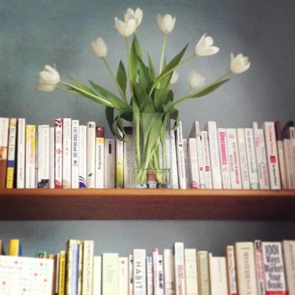 tulips & books