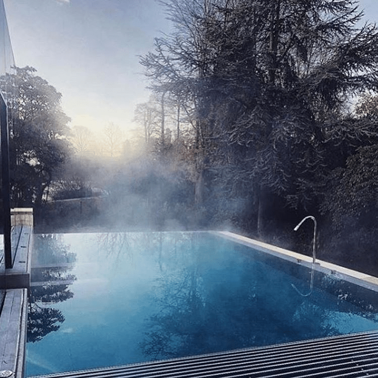 rudding park 5 star spa hydroptherapy pool misty frost